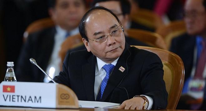 阮春福前往美国纽约出席第73届联合国大会一般性辩论  - ảnh 1