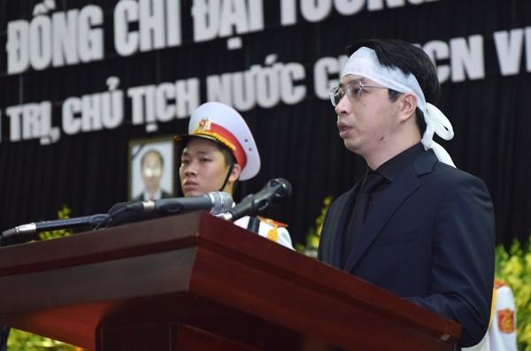 陈大光主席追悼会和安葬仪式隆重举行   - ảnh 2
