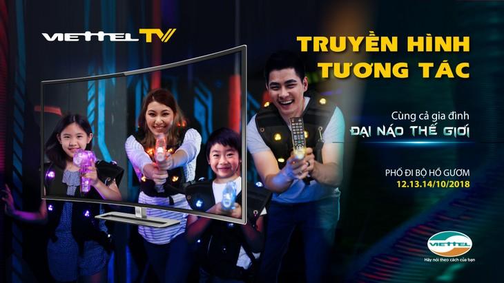 Viettel推出越南首个互动电视服务 - ảnh 1