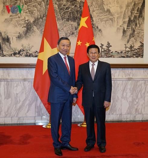 越中公安部第六次合作打击犯罪会议举行   - ảnh 1