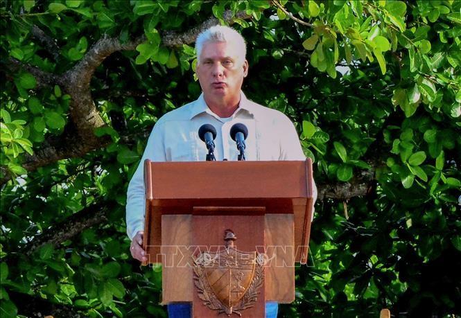 古巴公布迪亚斯-卡内尔主席在越南和其他国家的访问安排 - ảnh 1