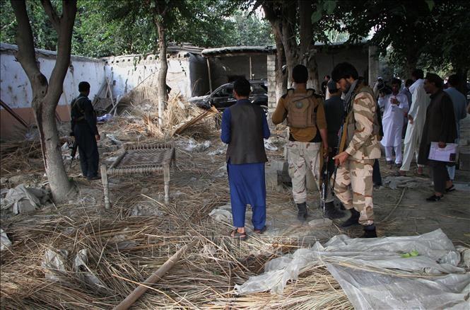 IS宣布对阿富汗独立选举委员会办公室附近爆炸负责 - ảnh 1