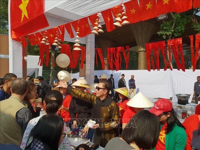 越南参加2018年各国驻印外交使团国际博览会 - ảnh 1