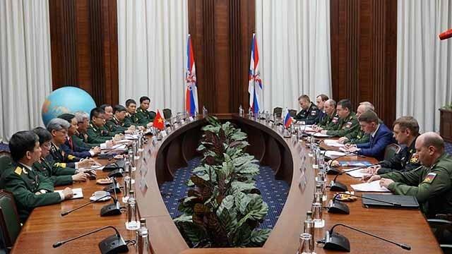 第四次越俄国防战略对话举行 - ảnh 1