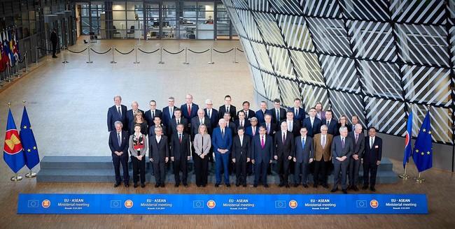 东盟-欧盟承诺加强全面合作 - ảnh 1