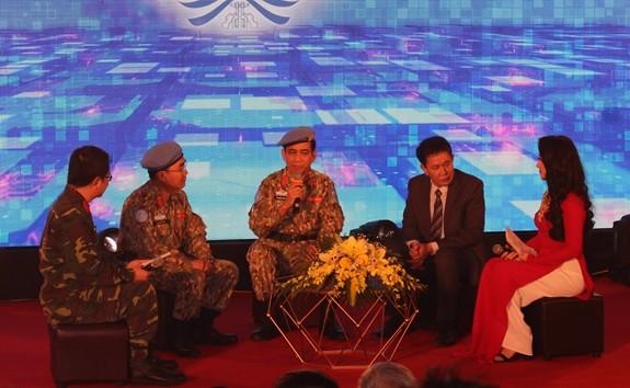 """越南维和局举行""""和平的翅膀""""交流会 - ảnh 1"""