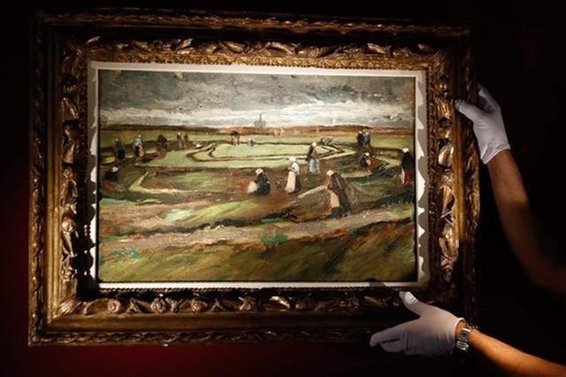 著名画家文森特·梵高作品的数字化图片展举行 - ảnh 1