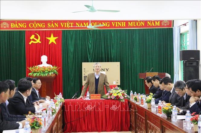 陈国旺视察和平省 - ảnh 1