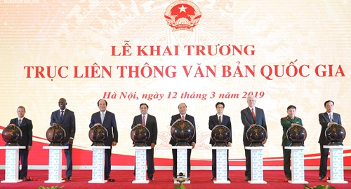 阮春福:国家文件联通链面向智能化的国家管理和现代化行政体系 - ảnh 1