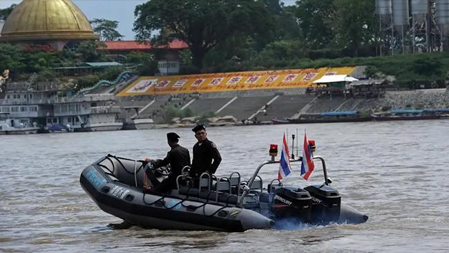 第80次中老缅泰湄公河联合巡逻执法启动 - ảnh 1
