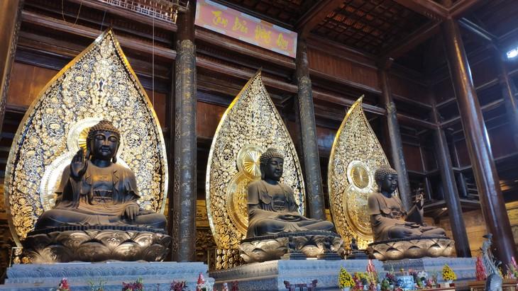 造访三祝寺虔灵旅游区群体 - ảnh 2