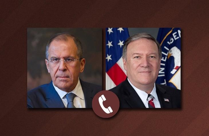 俄美外长就委内瑞拉局势通电话 - ảnh 1