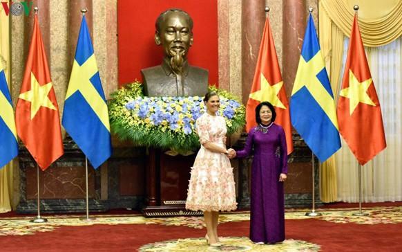 瑞典女王储对越南进行正式访问 - ảnh 1