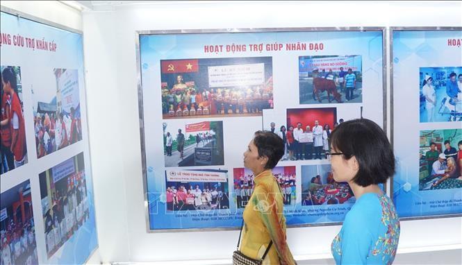 胡志明市举行2019年人道行动月启动仪式 - ảnh 1