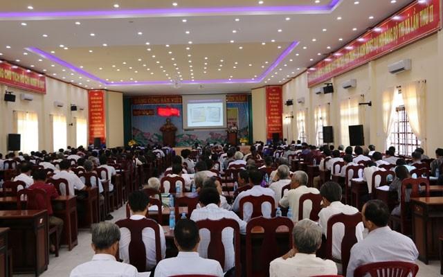 越共中央宣教部举办越柬陆地边界管理工作结果宣传培训班 - ảnh 1