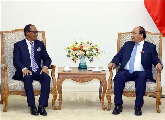 越南政府总理阮春福会见东帝汶外交与合作部部长苏亚雷斯 - ảnh 1