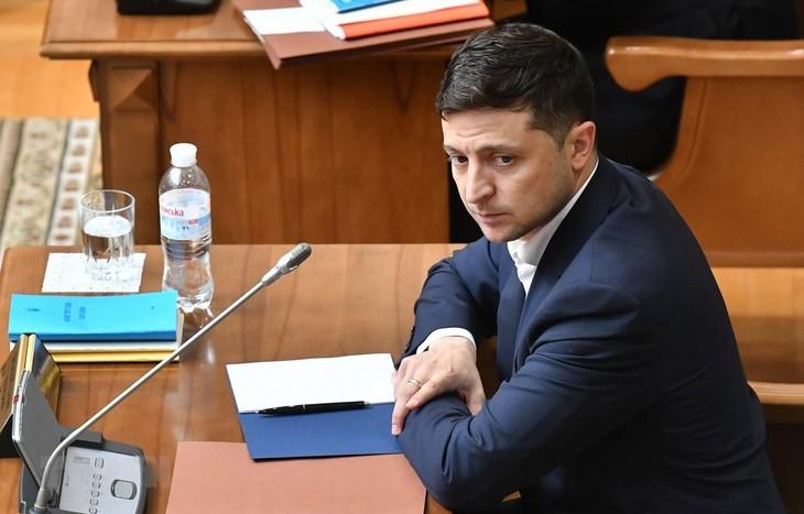 乌克兰新总统希望法国和德国协助解决乌克兰东部冲突 - ảnh 1