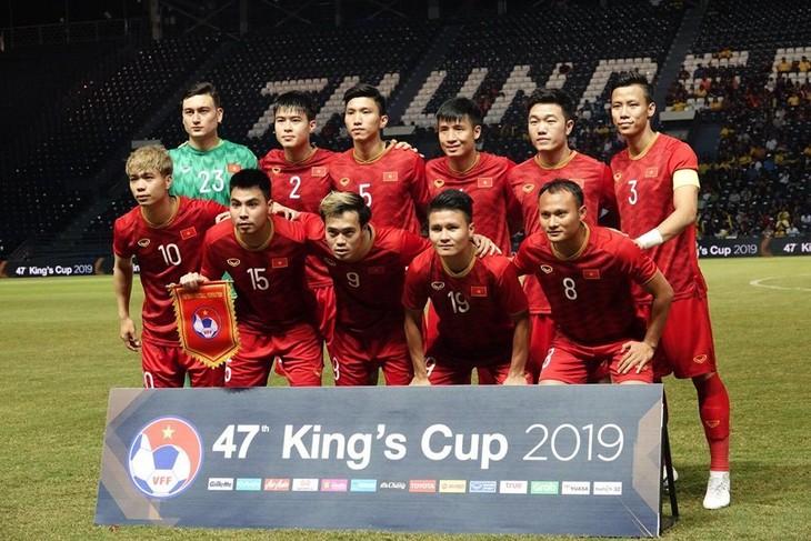 越南男子足球队在FIFA积分榜排名升至20年来最高 - ảnh 1