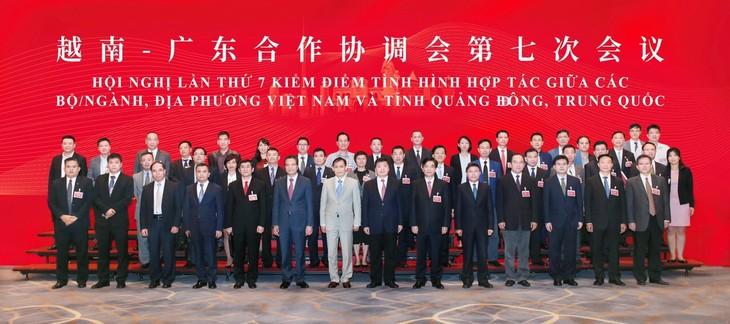 加强越南各部门各地方与中国广东省的合作 - ảnh 1