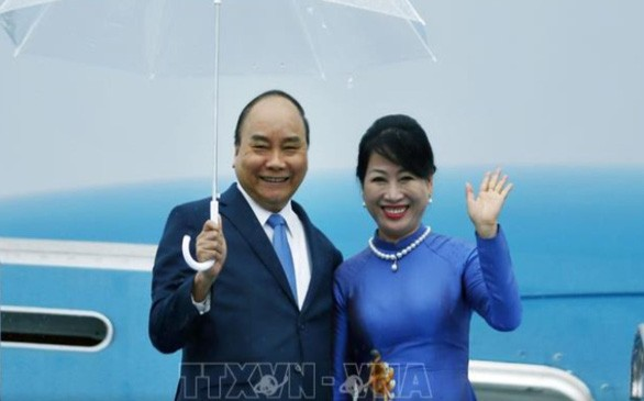 阮春福抵达大阪  开始出席G20峰会行程 - ảnh 1