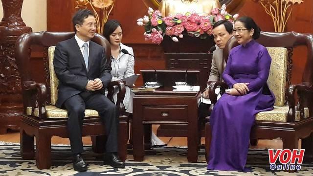 胡志明市推动与中国杭州的合作 - ảnh 1