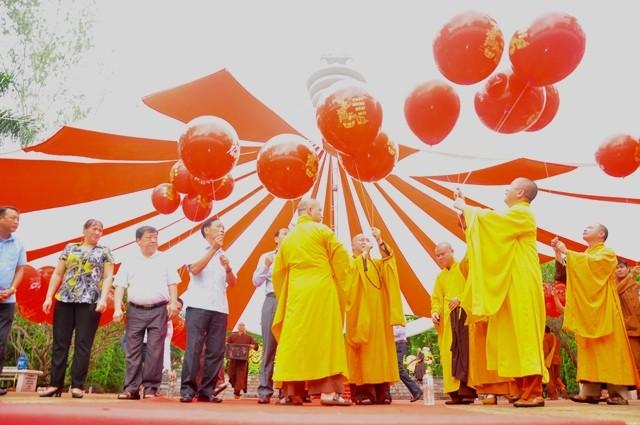 河江省:2019年越南英雄烈士和同胞英灵超度法会暨国泰民安祈求仪式举行 - ảnh 1