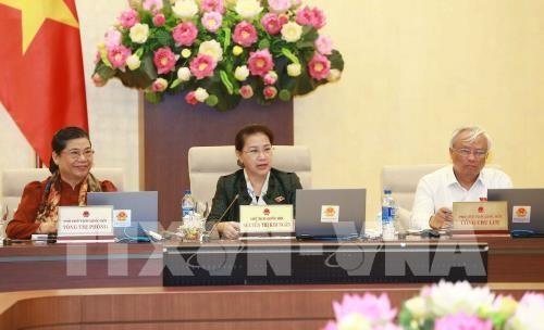 越南14届国会常委会35次会议开幕 - ảnh 1