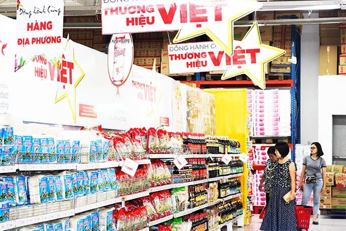 """广宁省开展""""越南人优先用越南货""""运动的10年历程 - ảnh 1"""