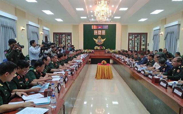 第四次越柬国防对话会在柬埔寨举行 - ảnh 1