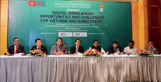 越南与孟加拉国加强信息技术合作 - ảnh 1