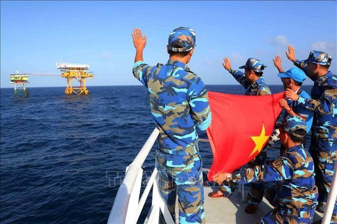 越南通过和平方式行使和捍卫国家主权的一贯政策 - ảnh 1