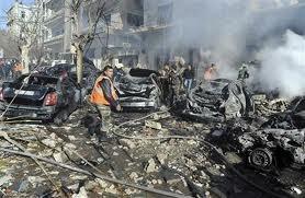 Dua serangan bom di Damaskus menewaskan 27 penduduk sipil - ảnh 1