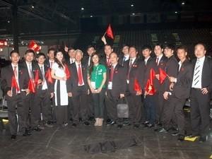 Vietnam berpartisipasi pada Kontes Ketrampilan Sedunia ke-42 di Republik Federasi Jerman - ảnh 1
