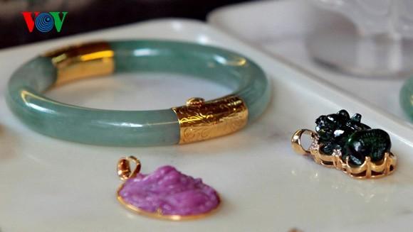 Kejuruan membuat barang perhiasan di jalan Hang Bac - ảnh 9