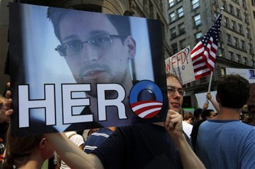 Edward Snowden membocorkan negara-negara Eropa yang berpartisipasi pada program pengintaian Amerika Serikat - ảnh 1