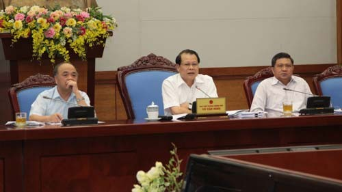 Konferensi evaluasi sementara terhadap pelaksanaan Resolusi Sidang Pleno ke-7 KS PKV angkatan ke-10 - ảnh 1