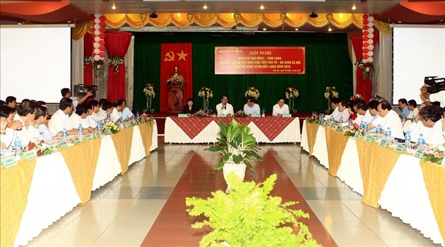 Menjamin sumber modal untuk mengembangkan sosial-ekonomi daerah Dataran rendah sungai Mekong - ảnh 1