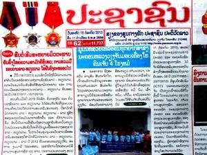Koran Laos menilai tinggi kerjasama dan bantuan yang bernilai dan efektif dari Vietnam - ảnh 1