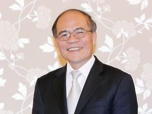 Ketua MN Vietnam, Nguyen Sinh Hung memulai kunjungan resmi ke Republik Korea dan Myanmar - ảnh 1