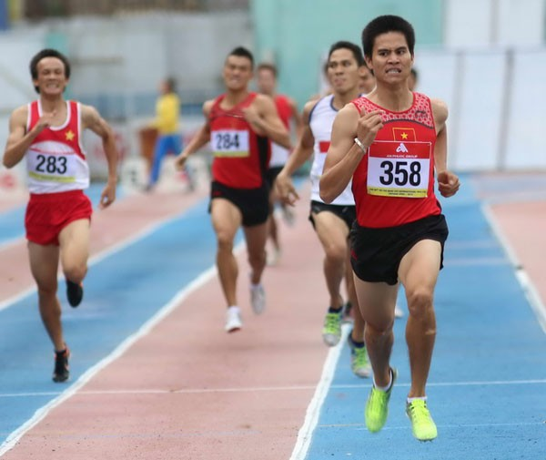 Vietnam merebut kemenangan besar dalam turnamen Atletik internasional kota Ho Chi Minh yang diperluas - ảnh 1