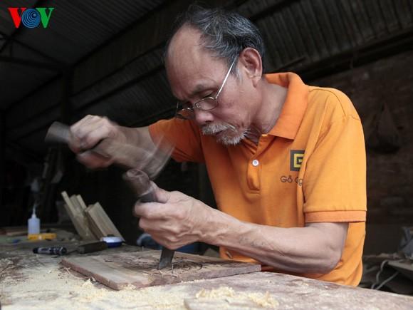 Chang Son - Desa kerajinan perkayuan yang khas - ảnh 1