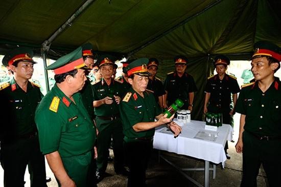 Pasukan Anti Terorisme Vietnam melakukan latihan - ảnh 1