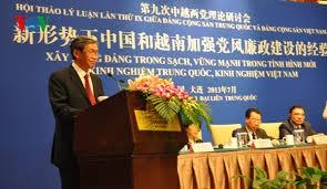 Lokakarya Teori antara Partai Komunis Vietnam dan Partai Komunis Tiongkok - ảnh 1