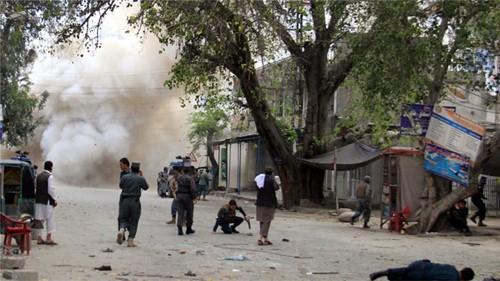 IS mengakui sebagai pelaku serangan bom di Afghanistan Timur - ảnh 1