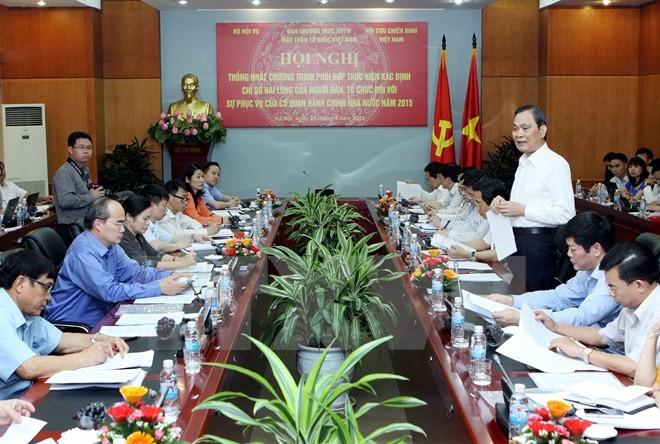 Front Tanah Air Vietnam ikut menilai kepuasan atas pelayanan dari badan administrasi - ảnh 1