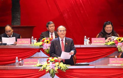 Kongres Nasional ke-12 PKV membahas banyak naskah dan mendengarkan banyak referat - ảnh 1