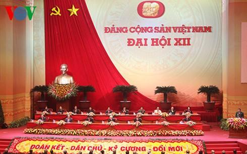 Kongres Nasional ke-12 meneruskan perbahasan tentang pekerjaan personalia KS PKV angkatan ke-12 - ảnh 1