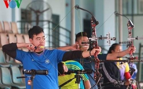 Kontingen Memanah Vietnam merebut 8 medali emas Asia Tenggara - ảnh 1