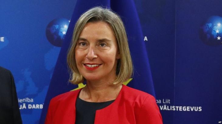 La cheffe de la diplomatie européenne à Tripoli pour parler coopération UE-Libye - ảnh 1