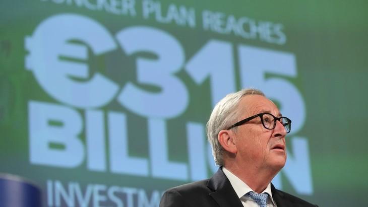 Le président Juncker prêt à croiser le fer avec Trump - ảnh 1